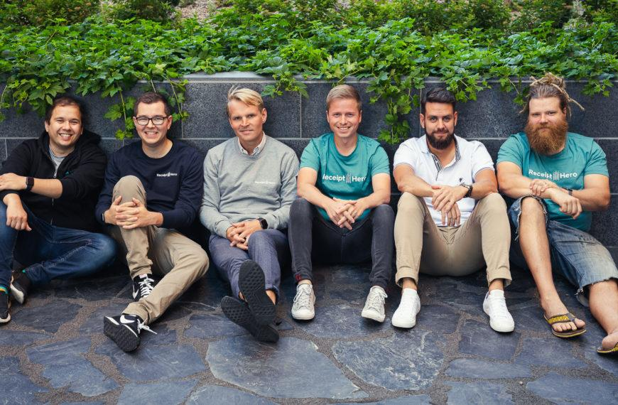 Angel accelerated ReceiptHero receives 2M€ funding