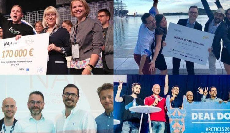 Nordic Angel Program invested 575.000 euros in four different startups