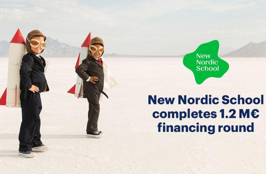 New Nordic School completes 1.2M€ seed financing round