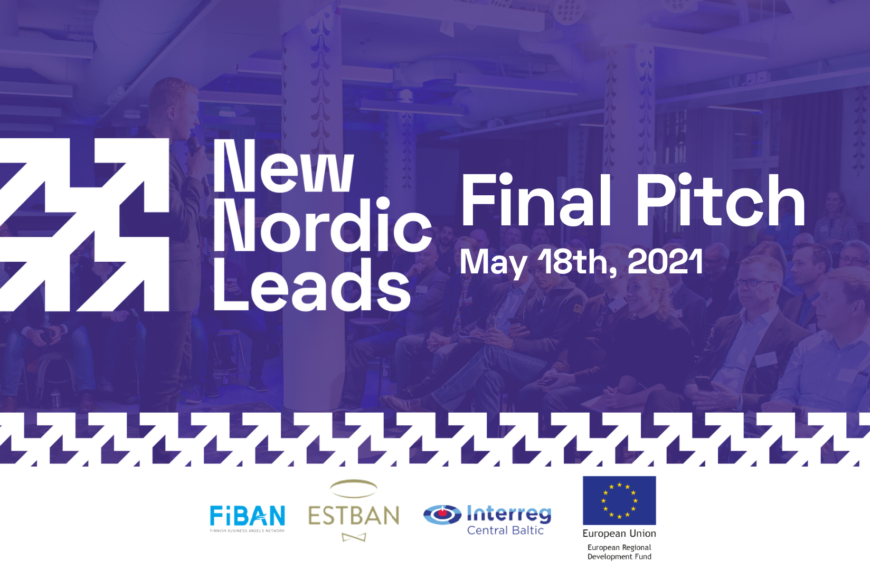 Meet the TOP10 startups of New Nordic Leads Batch 2!